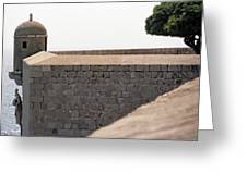 Dubrovnik The Wall Greeting Card
