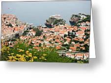 Dubrovnik, The Walled Old City Greeting Card