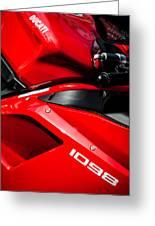 Ducati 1098 Motorcycle -0893c Greeting Card