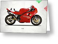 Ducati 888 Greeting Card