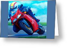 Ducati 916 Greeting Card