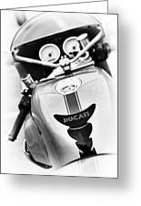 Ducati Ps1000le Abstract Greeting Card