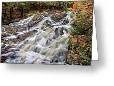 Duchesnay Falls Greeting Card