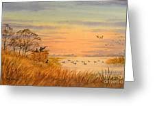 Duck Hunting Calls Greeting Card