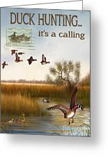 Duck Hunting-jp2783 Greeting Card