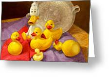 Duck Soap Greeting Card