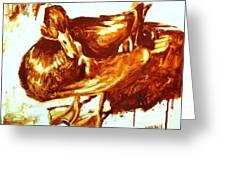 Duck Study Greeting Card