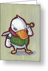 Ducky Death Greeting Card