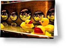 Ducky Reflections Greeting Card