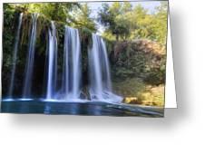 Duden Waterfall - Turkey Greeting Card