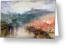 Dudley Worcester Greeting Card by Joseph Mallord William Turner