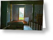 Dudley's Chapel Window - Painting Effect Greeting Card