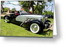 Duesenberg I Greeting Card