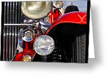 Duesenberg Greeting Card