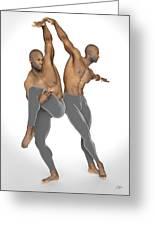 Dueto De Danza Greeting Card