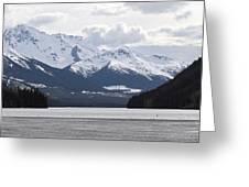 Duffy Lake Scenery Greeting Card