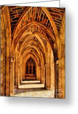 Duke Chapel Greeting Card