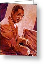 Duke Ellington Greeting Card