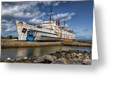 Duke Of Lancaster  Greeting Card by Adrian Evans