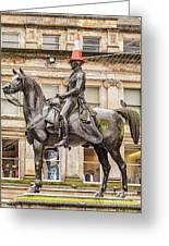 Duke Of Wellington Statue Greeting Card
