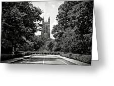 Duke University Chapel Greeting Card