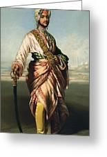 Duleep Singh, Maharajah Of Lahore Greeting Card