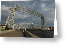 Duluth Lift Bridge 2 Greeting Card
