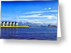 Duluth Minnesota Harbor Greeting Card