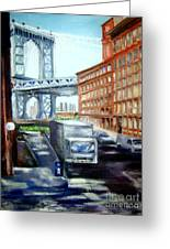 Dumbo Bridge Greeting Card