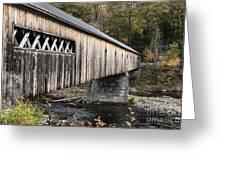 Dummerston Covered Bridge Greeting Card