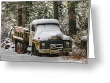 Dump Truck Greeting Card