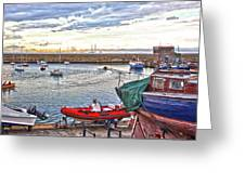Dun Laoghaire 19 Greeting Card