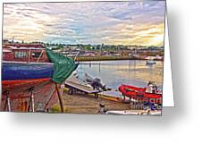 Dun Laoghaire 17 Greeting Card