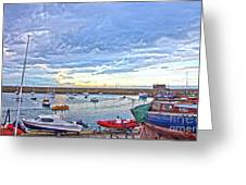 Dun Laoghaire 24 Greeting Card