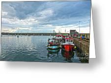 Dun Laoghaire 28 Greeting Card