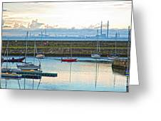 Dun Laoghaire 3 Greeting Card