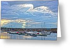 Dun Laoghaire 32 Greeting Card