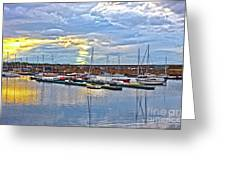 Dun Laoghaire 33 Greeting Card
