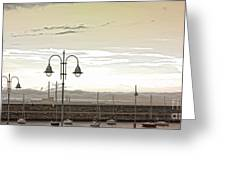 Dun Laoghaire 39 Greeting Card