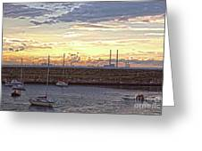 Dun Laoghaire 40 Greeting Card