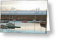 Dun Laoghaire 5 Greeting Card