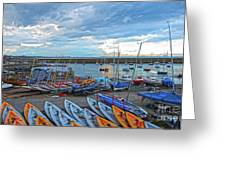 Dun Laoghaire 8 Greeting Card