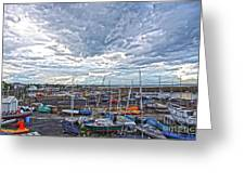 Dun Laoghaire 9 Greeting Card