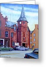 Dunbar High Street Greeting Card