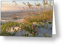 Dune Bliss Greeting Card by LeeAnn Kendall