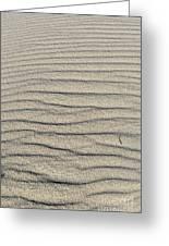 Dune Textures Greeting Card