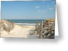 Dunes 34 Greeting Card