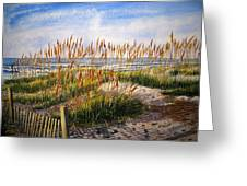 Dunes At Dawn Greeting Card