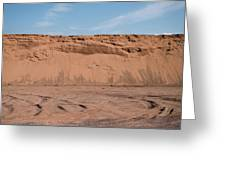 Dunes Of Sand Greeting Card