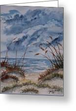 Dunes Seascape Fine Art Poster Print Seascape Greeting Card